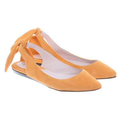 Carven Ballerinas in Orange