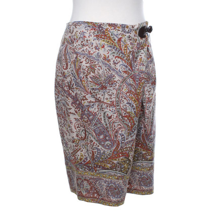 Etro skirt with ornaments pattern