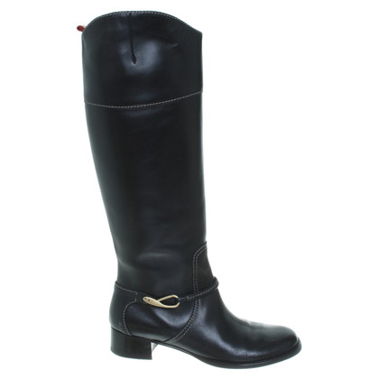 Bally Stiefel im Reiterlook