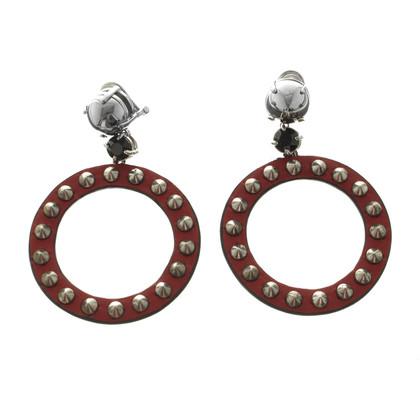 Miu Miu Leather earrings