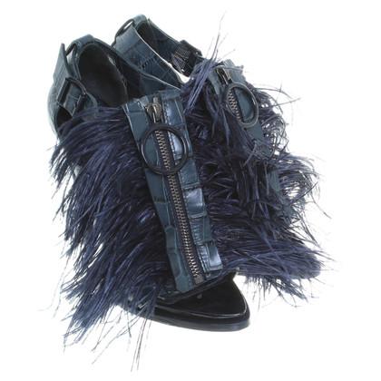 Givenchy Sandalen met veren