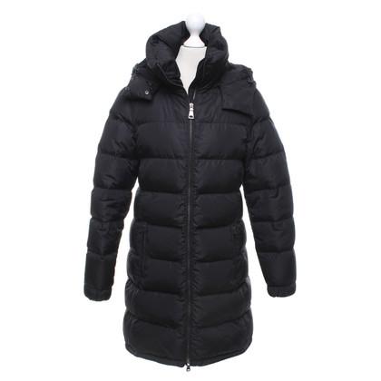 Prada manteau de duvet en noir