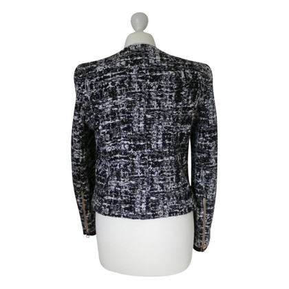 Sandro Cardigan in black/white