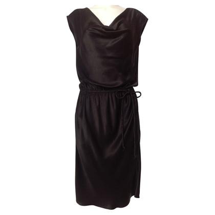 Lanvin Kleid mit Wasserfall Ausschnitt