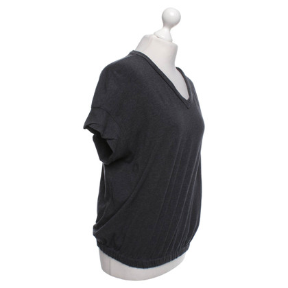 Brunello Cucinelli T-shirt in grijs