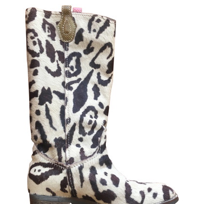 Maliparmi Boots with animal design