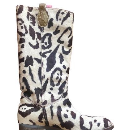 Maliparmi Stiefel mit Animal-Design
