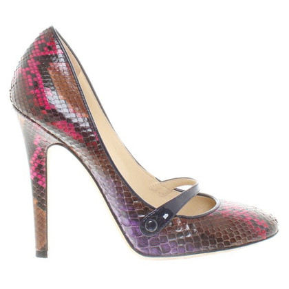 Jimmy Choo pumps from snake leather