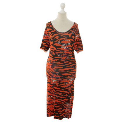 Alexander McQueen Animal print dress