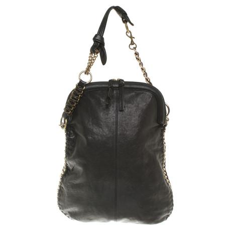 Bekommt Einen Rabatt Zu Kaufen Heißen Verkauf Günstig Online Maliparmi Handtasche in Schwarz Schwarz Günstig Kaufen Spielraum U2s6Y4tWR