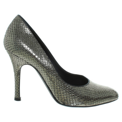 Bally Pumps in a snakeskin look