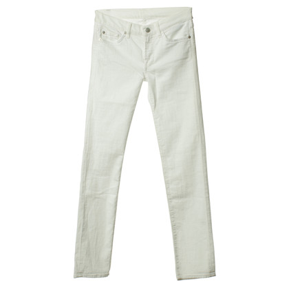 7 For All Mankind Jeans blanc
