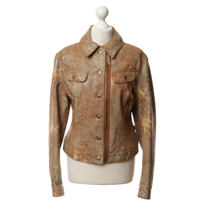 Jean Paul Gaultier Leather jacket in Brown