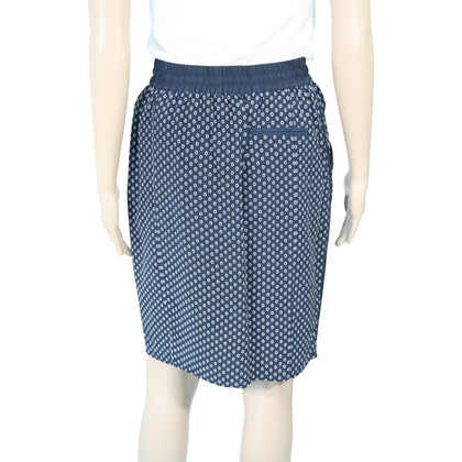 Whistles Silk skirt with pattern