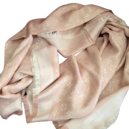 Louis Vuitton Monogram sjaal roze