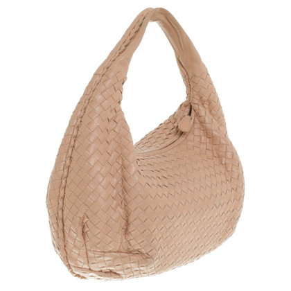 """Bottega Veneta """"Veneta Bag Large"""" in Beige"""