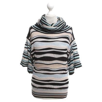 Missoni top with stripe pattern