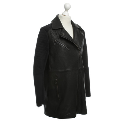 Karl Lagerfeld Short coat in black