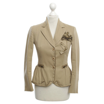 Moschino Cheap and Chic Blazer in Beige