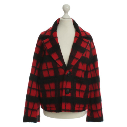 Dsquared2 Wool jacket with Plaid