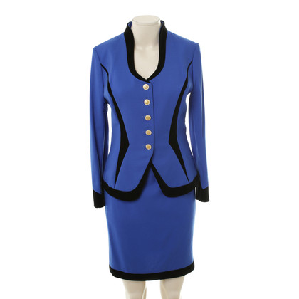 Escada Costume in Midnight Blue