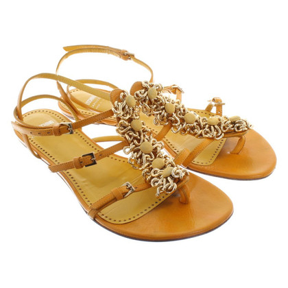 Moschino Cheap and Chic Sandals in Yellow