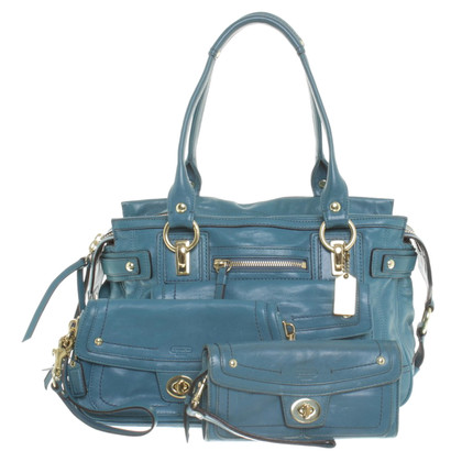 Coach Handbag with Pochette & Wallet