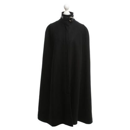 Pierre Balmain Cape in Schwarz