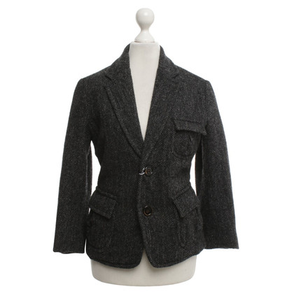 Dsquared2 Jacket with herringbone pattern