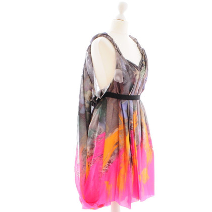 Matthew Williamson Colorful silk dress