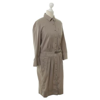Windsor Shirt-jurk in beige