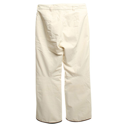 Bogner Ski pants in cream white