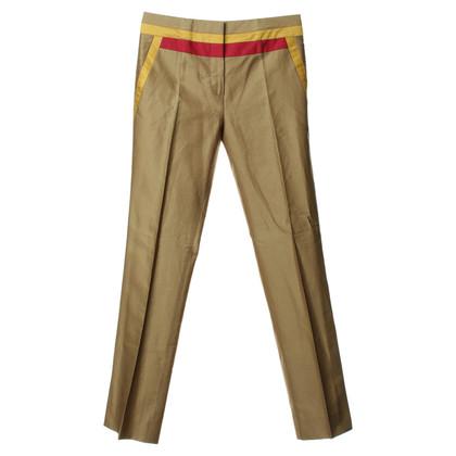 Prada Pantaloni con inserti colorati