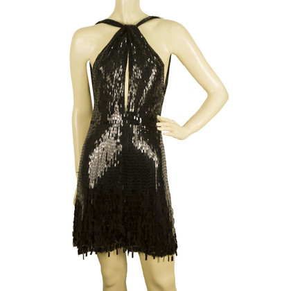 Jenny Packham Black sequined dress