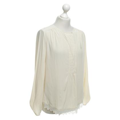 Zadig & Voltaire Crème blouse