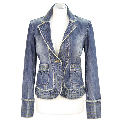 Whistles giacca di jeans in azzurro