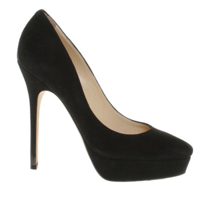 Jimmy Choo In pelle nera pumps