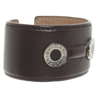 Bulgari Leather bangle