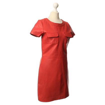 Maje Dress leather