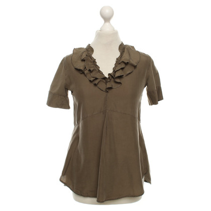 Max Mara T-shirt in Olive