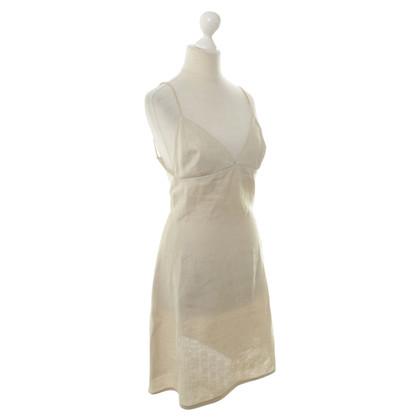 Armani Robe tablier beige