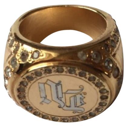 Versace Goudkleurige ring