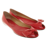 Valentino Ballerinas in red