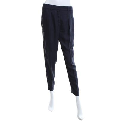 Tara Jarmon trousers in dark blue