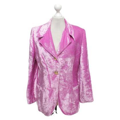 Versace Giacca rosa