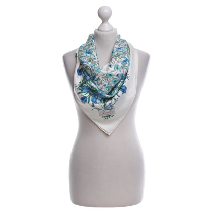 Gucci Seidentuch mit floralem Print