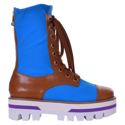 Dolce & Gabbana Laarzen in blauw / bruin