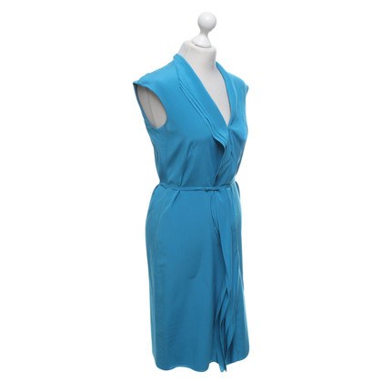 Hugo Boss Silk dress in turquoise