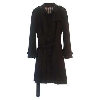 Burberry Trincea lunga del cotone coat gabardine
