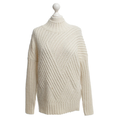 Closed Knitted sweater in cream